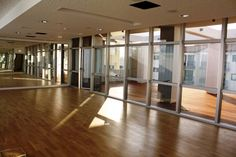 My dream. A large pole & fitness dance studio. Glass & mirrors.