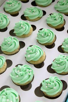 Mint Julep Cupcakes!