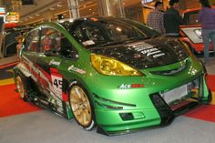 full modifikasi honda jazz rs sporty