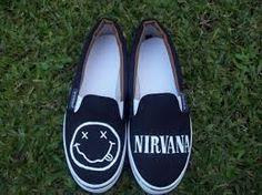 Resultado de imagen para zapatillas pintadas