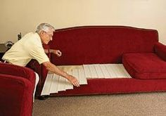 Couch Repair Sofa Cushions And On Pinterest