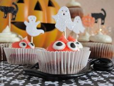 Pumpkin cupcakes  #Halloween #bimby #thermomix #vorwerk  Cupcake alla zucca per il #BimbyDreamTeam