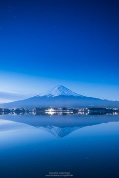 Mt. Fuji and Lake Kawaguchi, Japan