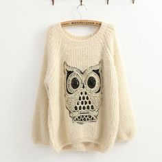 Wish | Twinkling Owl Jumper Sweater
