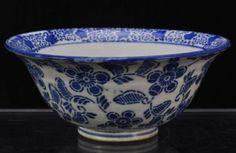 Antique-Japanese-Porcelain-Blue-Transfer-Bowl