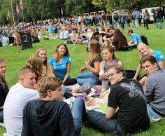 KEI-picknick: Uitbrakken in het Stadspark