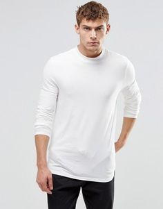 ASOS Muscle Long Sleeve T-Shirt With Turtle Neck £10.00 @ Asos