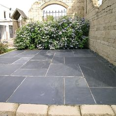 gray patio stone - Google Search