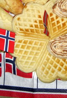 and then I used red mill's all purpose gluten-free flour. I had the vanilla sugar from the international store but you can use a little vanilla aroma or mix sugar with fresh vanilla bean. Waffle Recipes, My Recipes, Gourmet Recipes, Whole Food Recipes, Cooking Recipes, Favorite Recipes, Norwegian Waffles, Norwegian Food, Norwegian Recipes