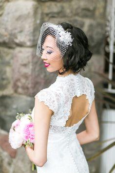 Wedding dress idea; photo: Jasmine Lee Photography