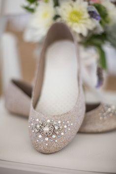 Embellished Bridal Flats