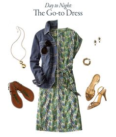 Summer Dress - Day to Night  www.coldwatercreek.com