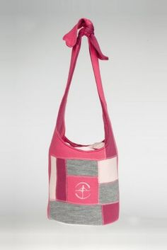 - New color - An innovative tote bag featuring knitted patchwork, tie up strap, scrunch closure and a cotton lining. Patchwork Bags, Dance Wear, Leotards, Gym Bag, Ballet, Tote Bag, Cotton, How To Wear, Presents