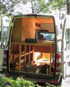 Comfy rvs camper van conversion ideas on a budget (45)