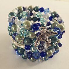 Made by Arja Hannele, Memory wire bracelet