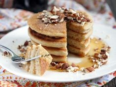 Finally! I'm sharing a recipe for the fluffiest paleo pancakes! I have been working on perfecting paleo pancakes for what seems like forever now. I wanted my recipe to call for as few ingredients as possible AND still taste like real pancakes. A pretty tough task when you're trying to make pancakes that are both grain-free…   Read More