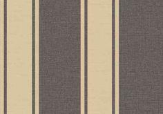 Diseño de rayas en este papel pintado de la colección Emotion de Grandeco.