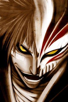 Anime: Bleach  Character name: Ichigo Kurosaki hollow