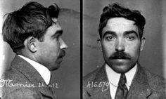 Elie Monier, le jour de son arrestation. Ce méridional sera le dernier membre de la bande exécuté le 21 avril 1913.