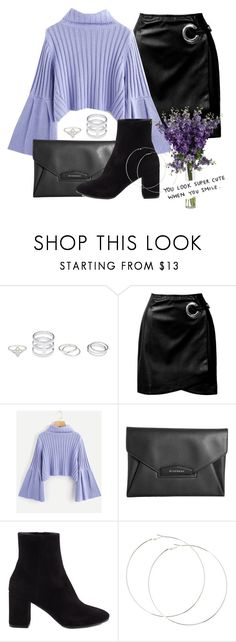 """lilac"" by jbsvdme ❤ liked on Polyvore featuring Sans Souci, Givenchy and Balenciaga"