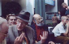 William S. Burroughs, Allen Ginsberg and Leonardo DiCaprio