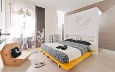 minimalistische Schlafzimmer von Spaghetticreative