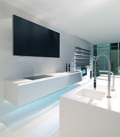 MK Style 012 Kitchen - hanging sideboard