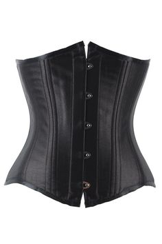 f73669b145a Plus Size 24 double Steel Boned Waist Trainer Corsets and Bustiers Black  Corset Underbust Gothic Corselet Sexy Waist Cincher -C