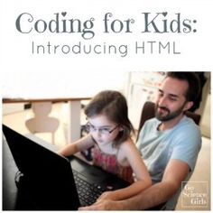 Coding for Kids - introducing html and computer science