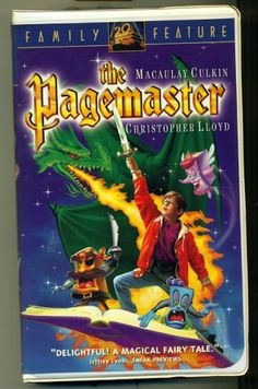 The Pagemaster VHS (4/4/95)
