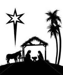 Resultado de imagem para desenhos natal silhouette