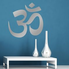Om Wall Sticker - OM Wall Decal in Home, Furniture & DIY, Home Decor, Wall Decals & Stickers | eBay