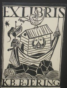 Ex Libris K.B. Bjering