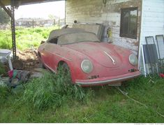Barn finds on pinterest rusty cars abandoned cars and cars for Garage volkswagen chevilly larue