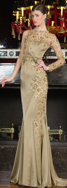 Toufic Hatab Couture Spring 2014 jαɢlαdy