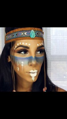 Indian face paint                                                                                                                                                     More