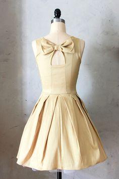 Fleet Collection - Jubilee Dress in Gold, $84.00 (http://www.fleetcollection.com/jubilee-dress-in-gold/)