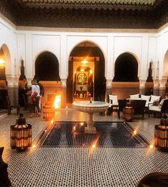 Beautiful Marrakech #LaMamounia