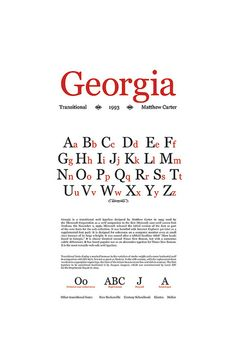 Typography 1 (Project 8: Type Classification Posters) by estheticcore, via Flickr