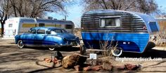 Saw this awesome set up with a classic car and matching trailer in Albuquerque, NM
