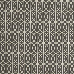 Dwell Studio Fabric Gate Charcoal