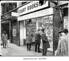 The Court Bookshop, next door to the Raymond Revue Bar in Walkers Court in the 70's.