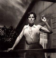 Sigourney Weaver by Helmut Newton, 1995