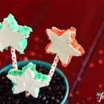 Poppin' Patriotic Marshmallow Pops - from a farmgirl's dabbles