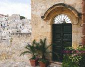 Instant Download, Italy, Italy Photography, Italy Decor, Basilicata, Matera, Sassi, Print, Home Decor, Photograph, Fine Art