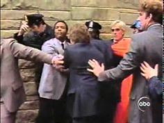 Footage of Ronald Reagan''s assassination attempt in 1981 Play Image, Ronald Reagan, Image Collection, Youtube, Youtubers, Youtube Movies