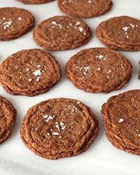 Chewy Cinnamon-Spelt Cookies with Sea Salt Recipe on Food & Wine
