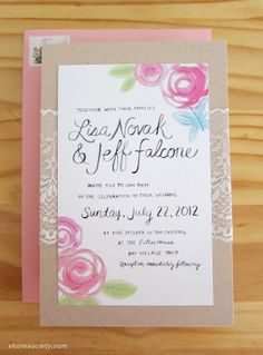 shore society wedding invitations >>> i swear, these are incredible. i want my wedding invitations to be done by shore society!
