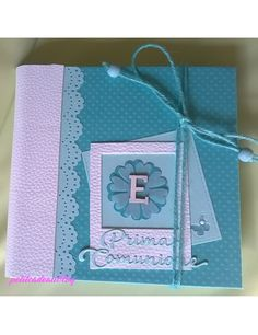 Scrapbook Albums, Scrapbooking, First Holy Communion, All Paper, Paper Design, Mini Albums, Advertising, Stationery, Paper Crafts