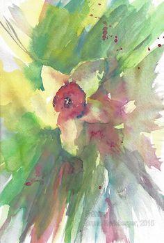 Frühling / Springtime / Primavera / Printemps / 春天 Spring, Painting, Watercolor Painting, Water Colors, Painting Art, Paintings, Painted Canvas, Drawings